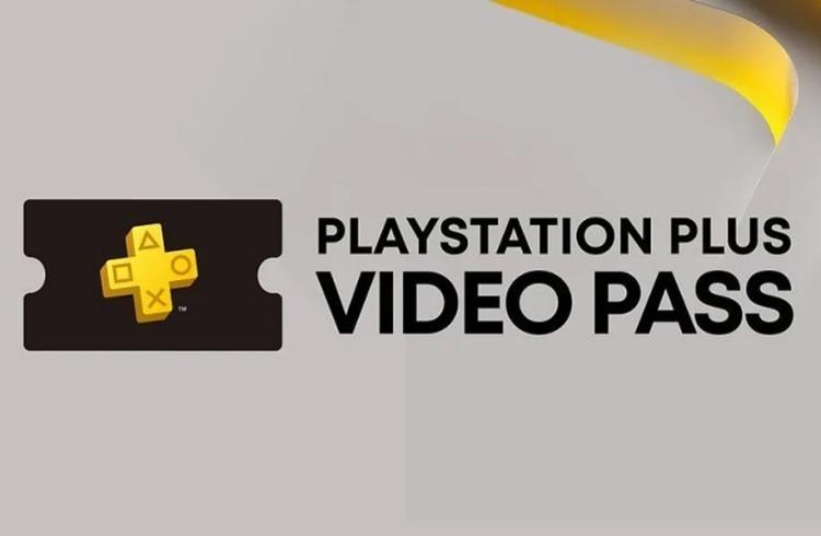 Imagem com a logo do serviço PS Plus Video Pass, disponível na Polônia.