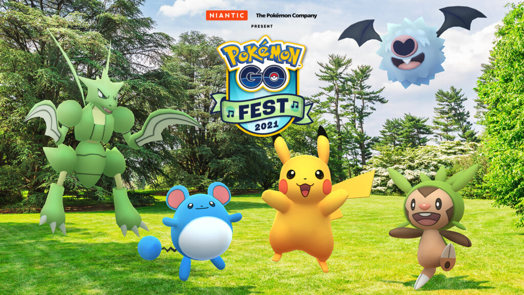 Pokémon GO Fest 2021 será em julho