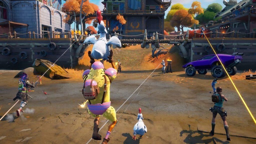 Fortnite é um jogo do gênero Battle Royale.