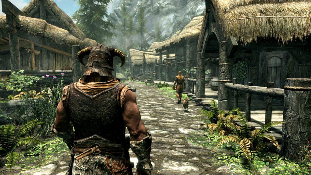 Skyrim é um dos jogos mais famosos do gênero RPG.