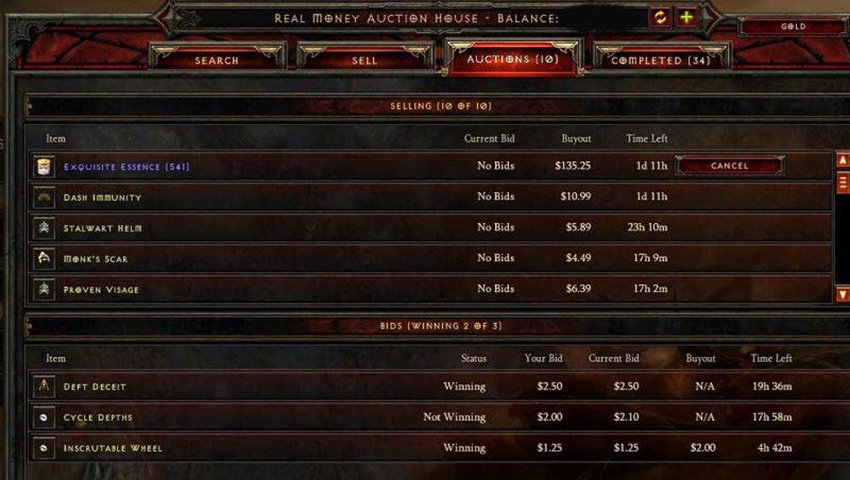 Microtransações em Diablo III