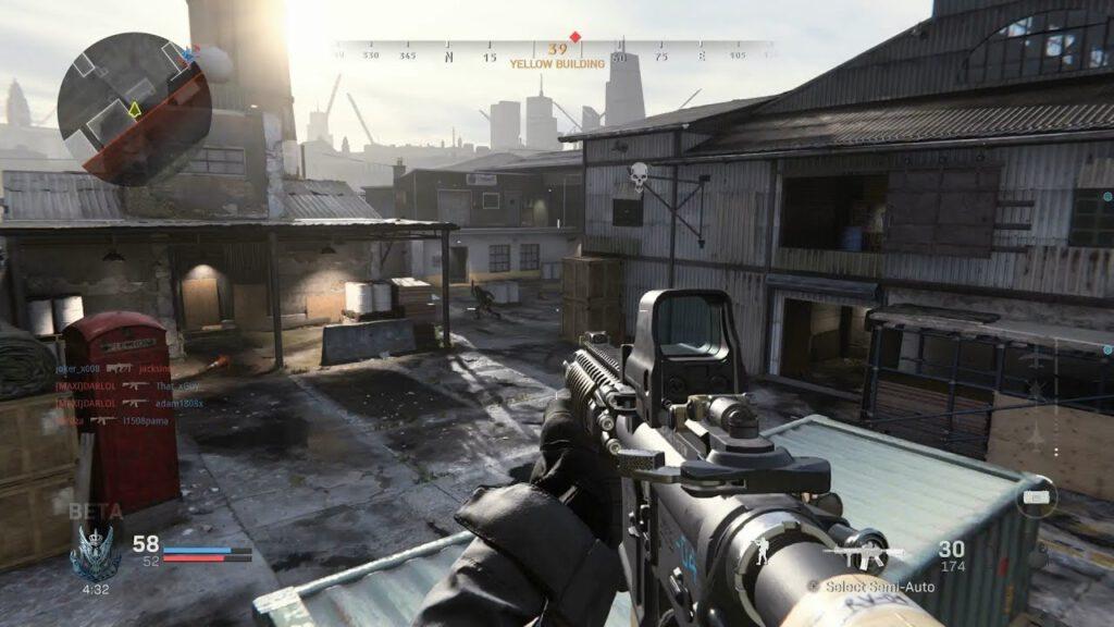 Call of Duty é um jogo do gênero FPS.
