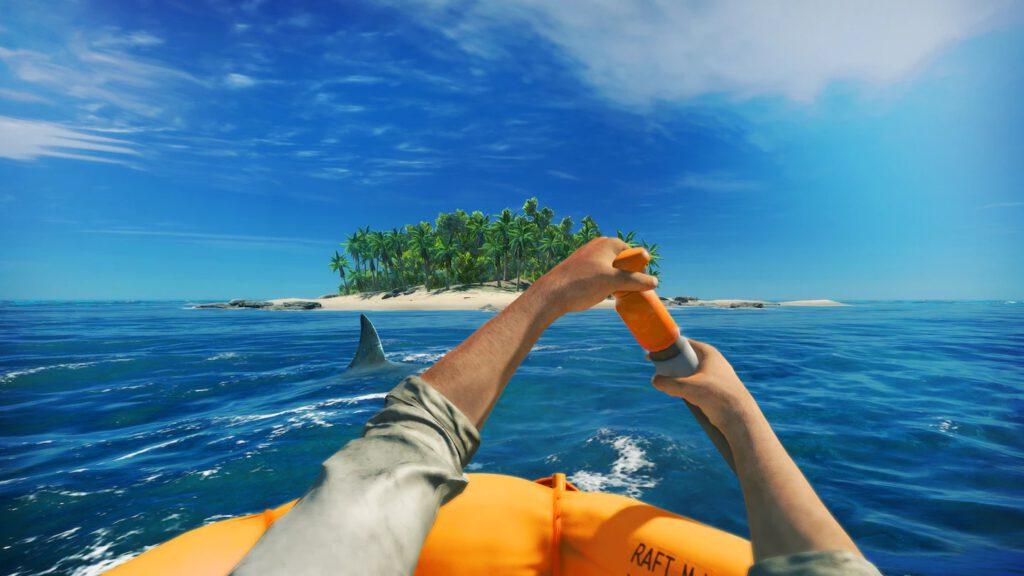 Stranded Deep, um jogo de sobrevivência do gênero FPA.