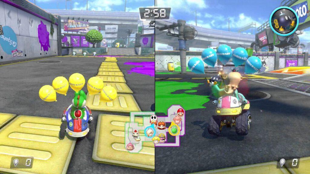 Reprodução: Mario Kart 8 Deluxe