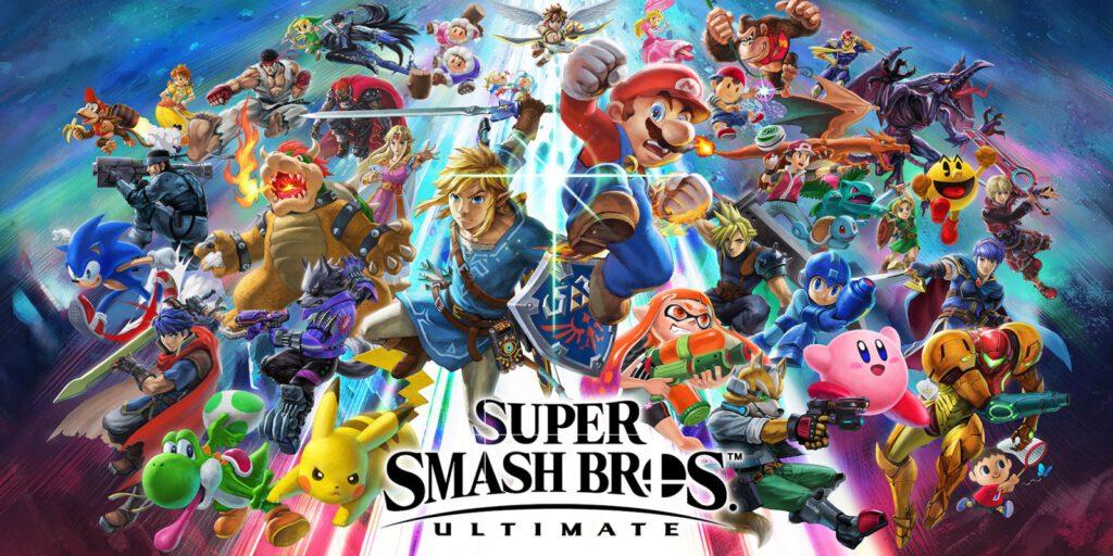 Reprodução: Super Smash Bros