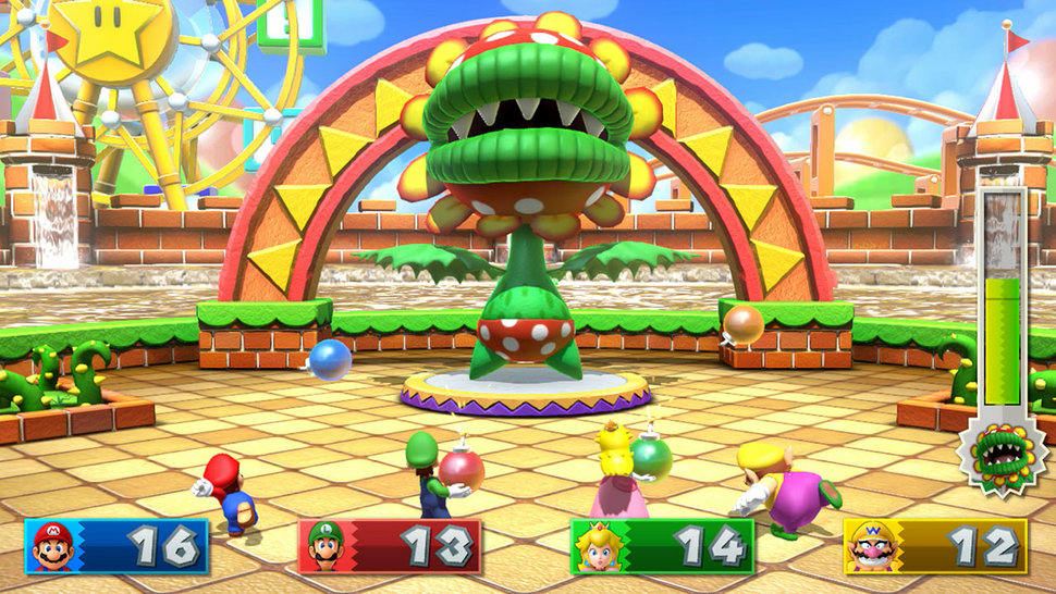 Reprodução: Super Mario Party
